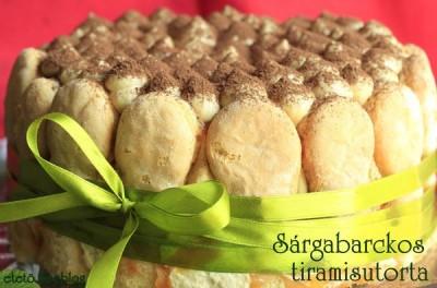 barackos tiramisu torta
